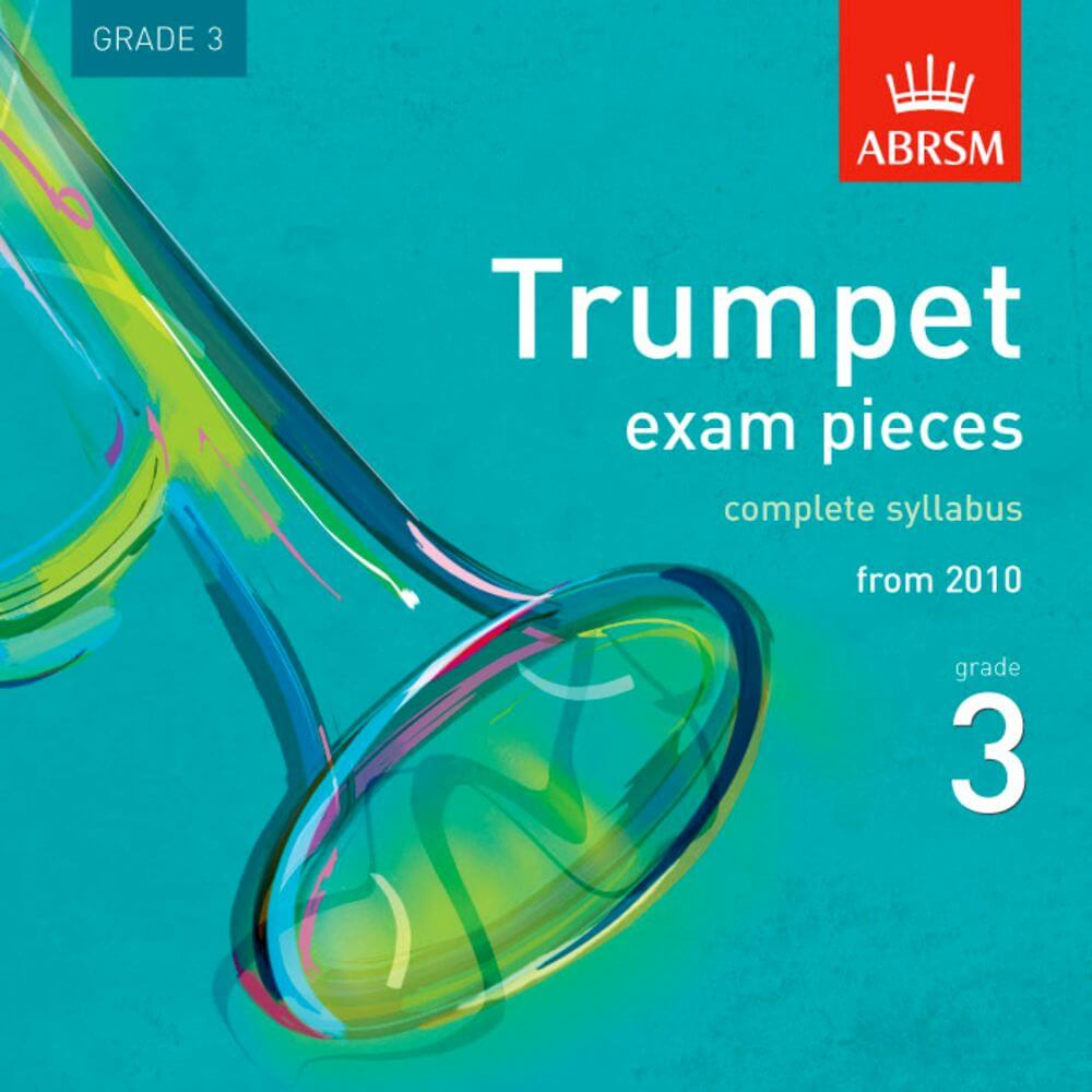 Trumpet Exam Pieces, complete syllabus, from 2010