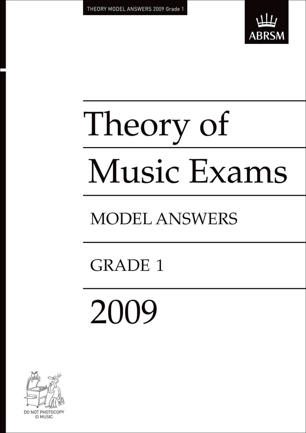 Theory of Music Exams Model Answers