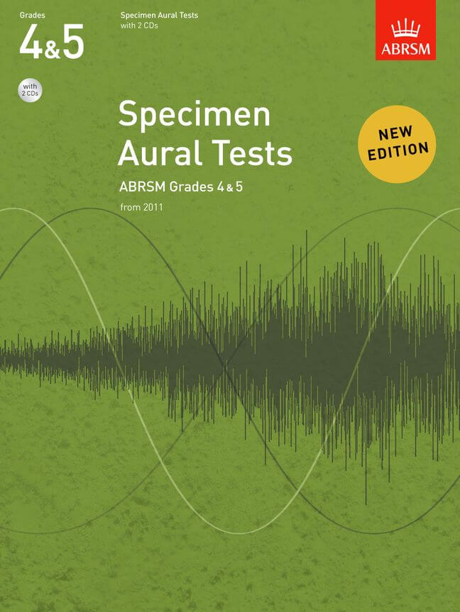 Specimen Aural Tests, Grades 4 & 5 with 2 CDs