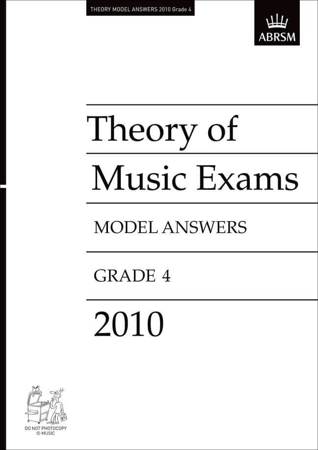 Theory of Music Exams 2010 Model Answers, Grade 4