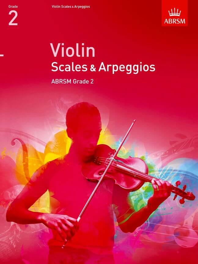 Violin Scales & Arpeggios, ABRSM Grade 2