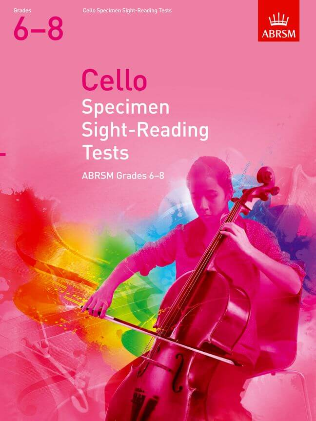 Cello Specimen Sight-Reading Tests, Grades 6-8