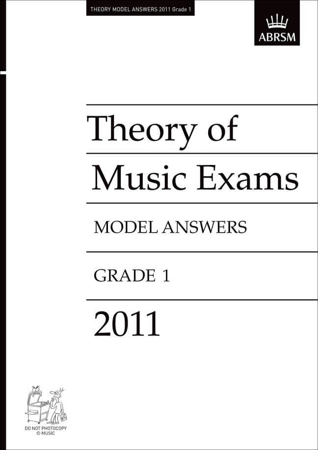 Theory of Music Exams 2011 Model Answers, Grade 1