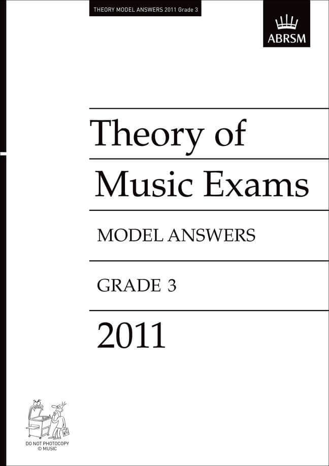 Theory of Music Exams 2011 Model Answers, Grade 3