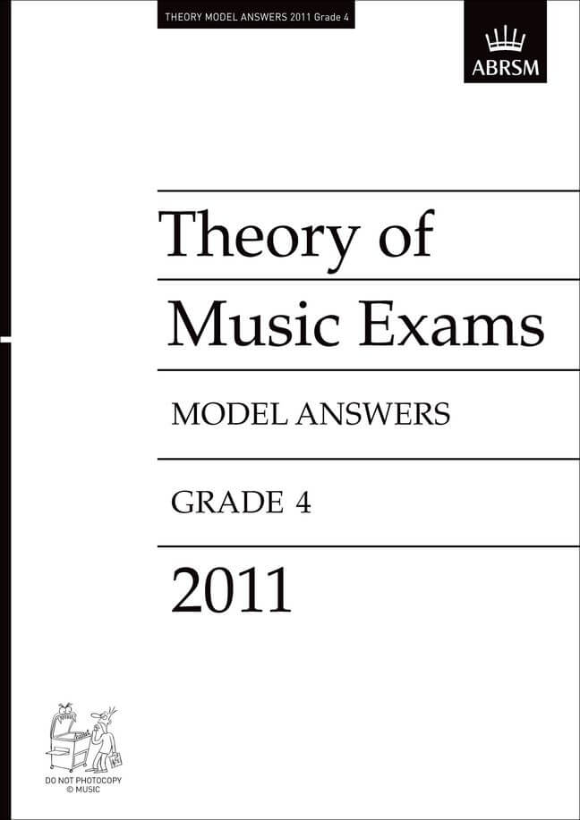 Theory of Music Exams 2011 Model Answers, Grade 4