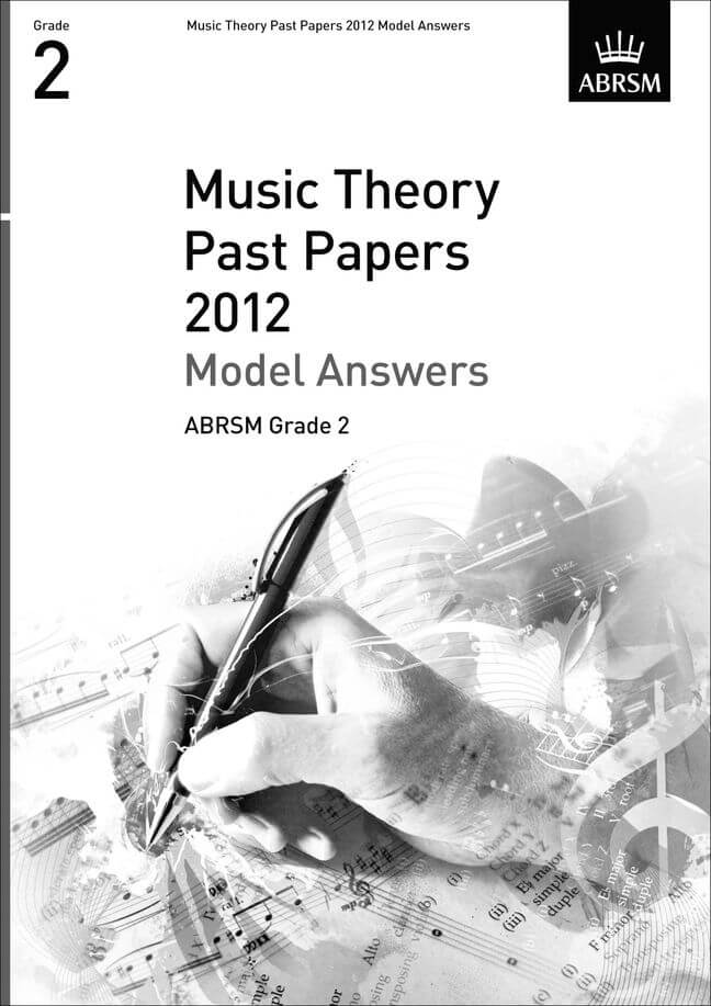 Music Theory Past Papers 2012 Model Answers