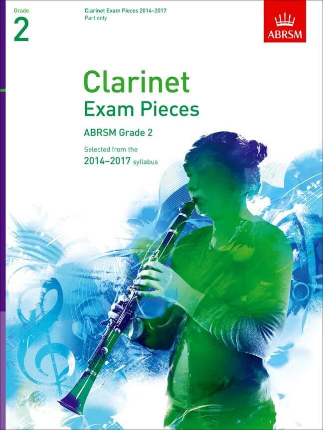 Clarinet Exam Pieces 2014-2017, Grade 2 Part