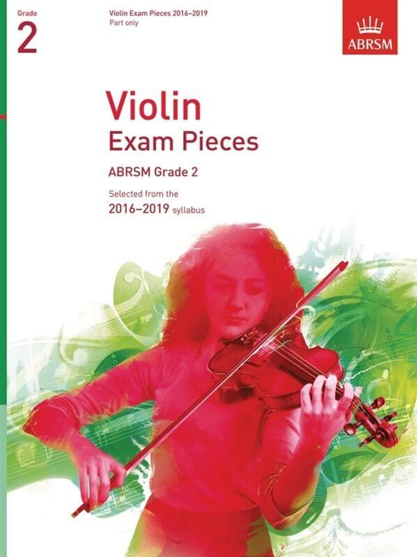 Violin Exam Pieces 2016-2019, ABRSM Grade 2