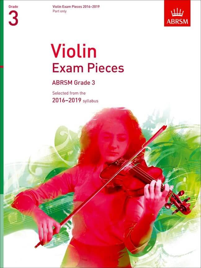 Violin Exam Pieces 2016-2019, ABRSM Grade 3