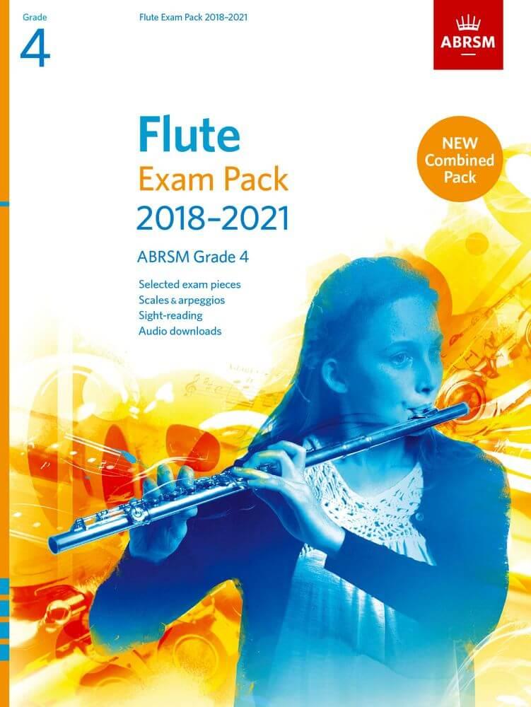 Flute Exam Pack Grade 4 2018-2021