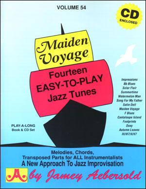 jamey Aebersold vol.54: Maiden Voyage +cd