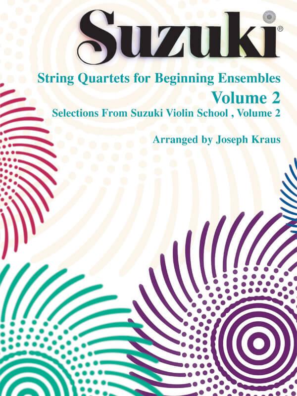 String Quartets for Beginning Ensembles, Volume 2.
