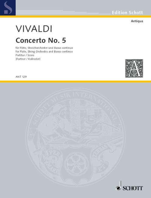 Concerto No. 5 op. 10/5 RV 434/PV 262.