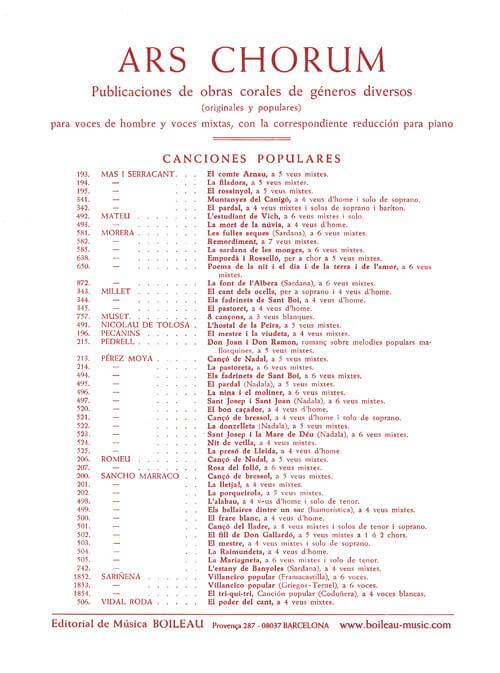 Romlanç de D.Joan i D.Ramon, 5 veus mixtes