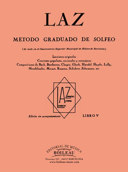LAZ, Método de Solfeo Vol.5º