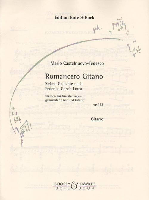 Romancero Gitano op. 152. Seven Poems