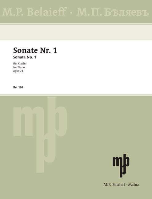 Sonata No 1 Bb minor op. 74.