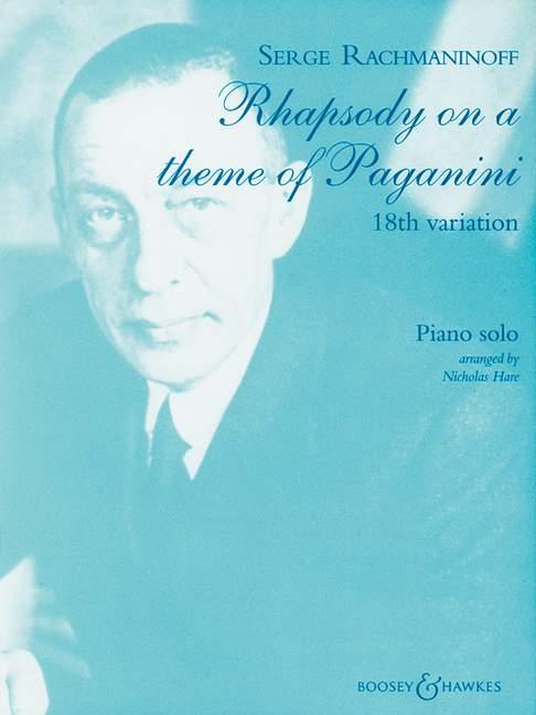 Rhapsodie über ein Thema von Paganini.Variation Nr. 18