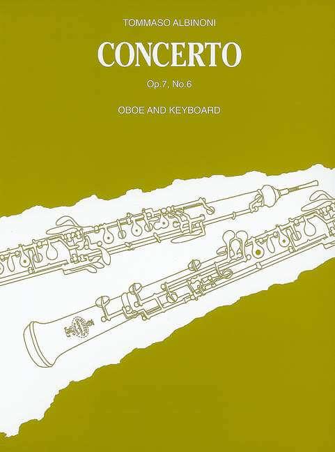 Concerto Oboe D Major op. 7/6 .Albinoni