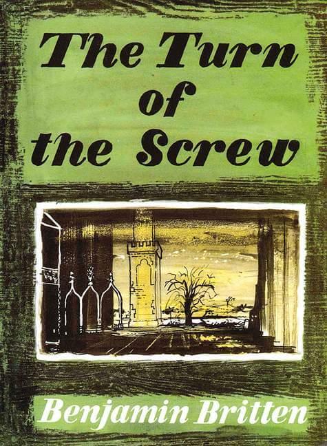 The Turn of the Screw Op.54 Britten. Voz y piano