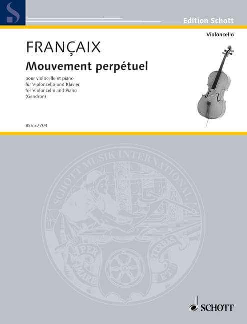 Mouvement perpétuel. from L'Arlequin blanc