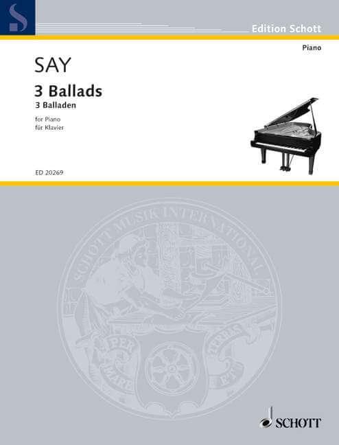 3 Ballads op. 12.