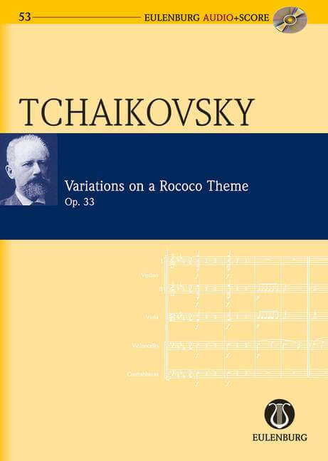 Variations on a Rococo Theme op. 33.