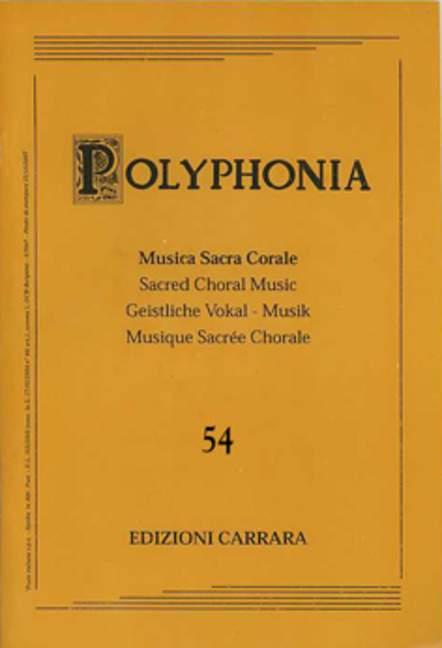 Polyphonia 54. Neun Motetten