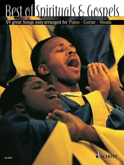 Best of Spirituals & Gospels. 59 great Songs in easy arrange