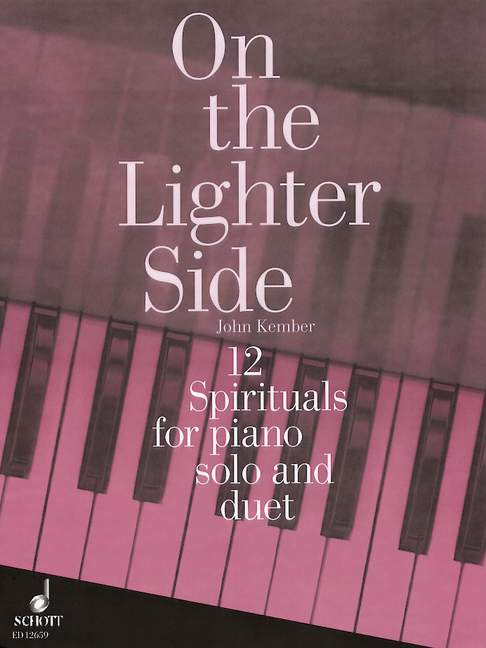 12 Spirituals for piano solo and duet.