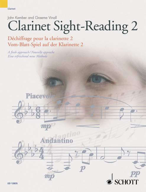 Clarinet Sight-Reading 2 Vol. 2. A fresh approach