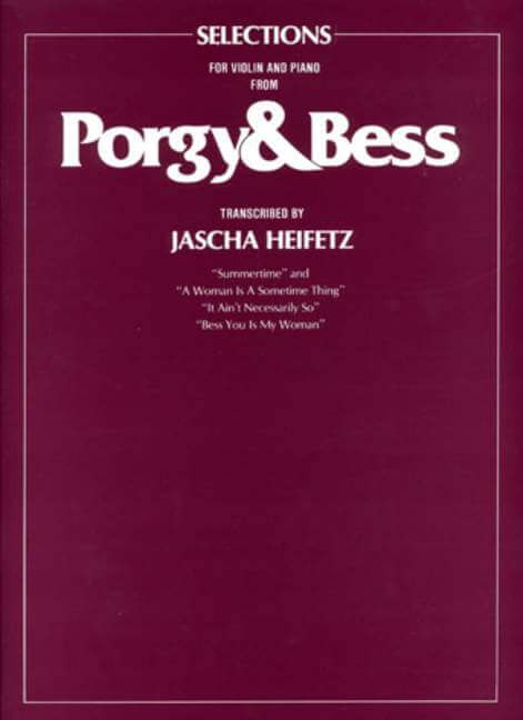 Porgy And Bess. Selections