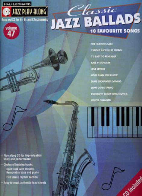Classic Jazz Ballads JPA47. 10 Favourite Songs