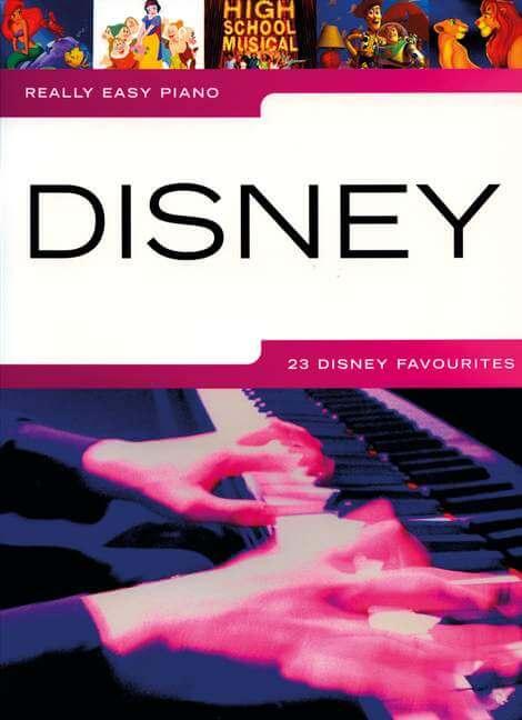 Really Easy Piano Disney.