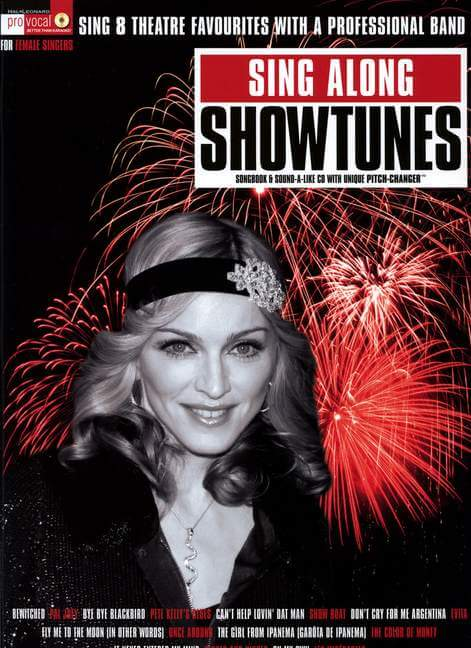 Sing Along Showtunes Pro Vocal For Female Singers. Sing 8 Th