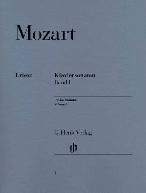 Piano Sonatas Volume I. Piano .Mozart