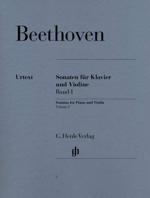 Sonatas for Piano and  Violin Volume I. Violín y piano