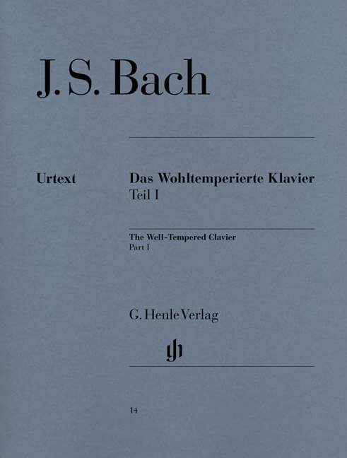 The Well-Tempered Clavier Part I. Piano Bach