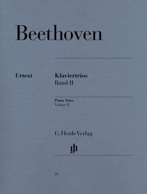 Piano Trios, Volume II. Trío con piano