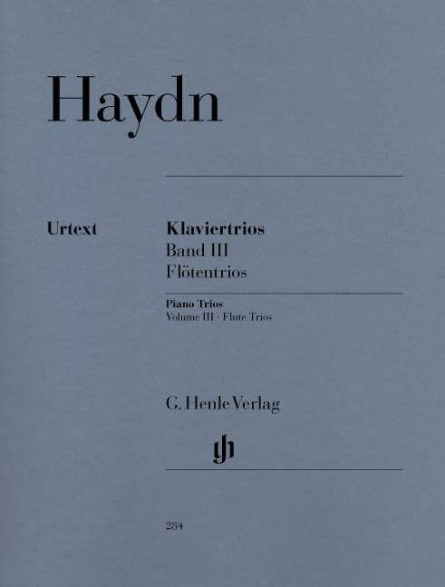 Piano Trios, Volume III  (for Piano, Flute (or Violin) and