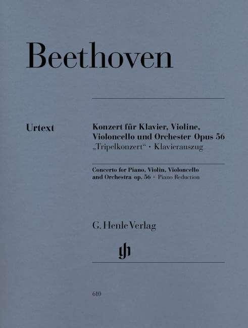 Concerto for Piano, Violin, Violoncello and  Orchestra Op.56