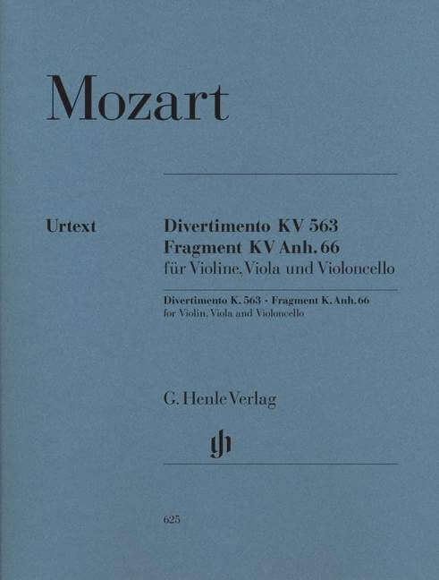 String Trio in E flat major K.563. Trío de Cuerda