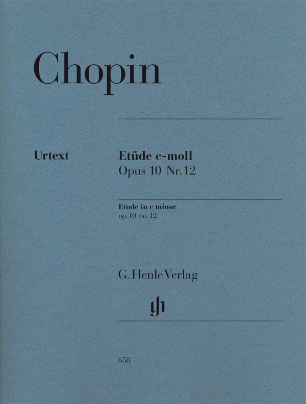 Etude in c minor Op.10,12 (Revolution). Piano