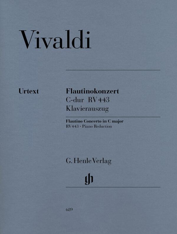 Concerto for Flautino (Recorder/Flute) and  Orchestra in C m. Vivaldi