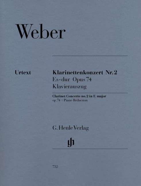 Clarinet Concerto no. 2 in E flat major Op.74. Clarinete y O