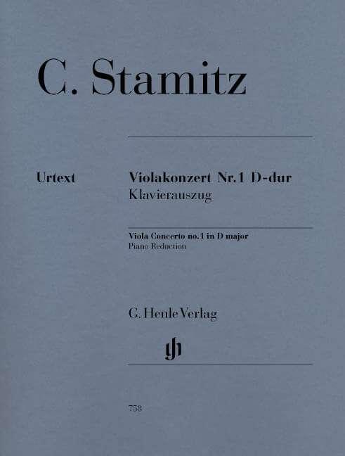 Viola Concerto no. 1 in Dmajor. Viola y Orquesta