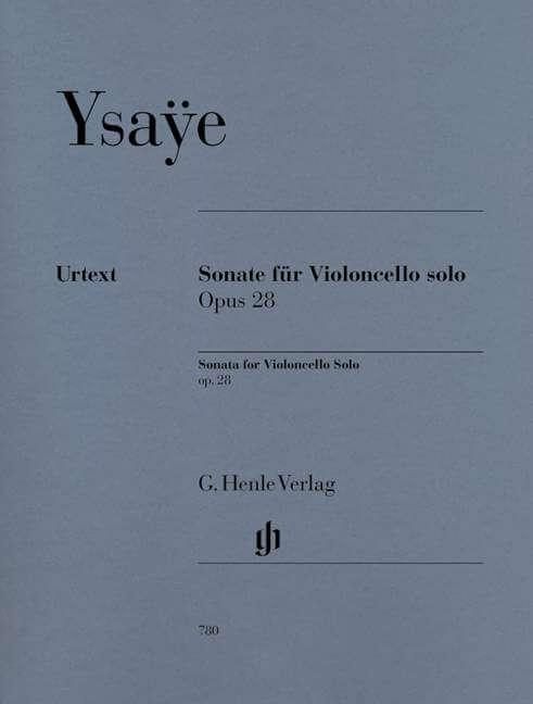 Sonata for Violoncello solo Op.28. Violoncello