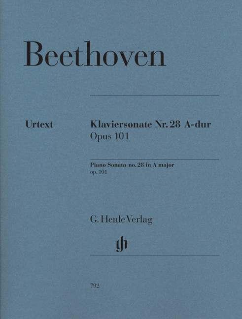 Piano Sonata No. 28 in A major Op.101. Piano