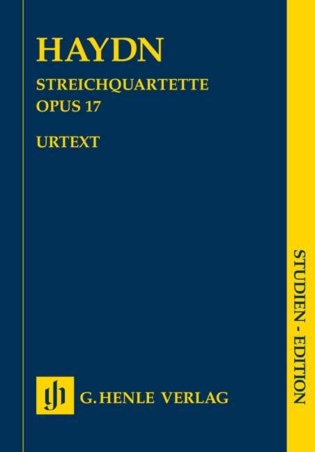 String Quartets Book III Op.17. Cuarteto de cuerda