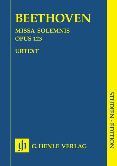 Missa solemnis D major op. 123